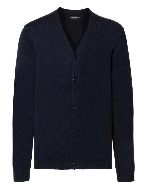 Men`s V-Neck Knitted Cardigan
