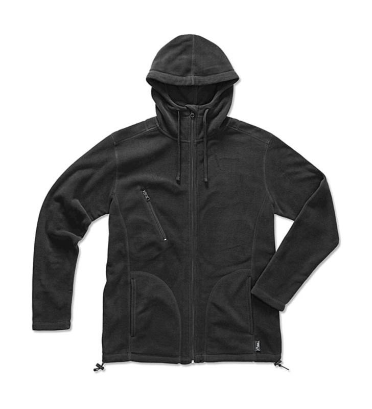 Active Hooded Fleece Jacket