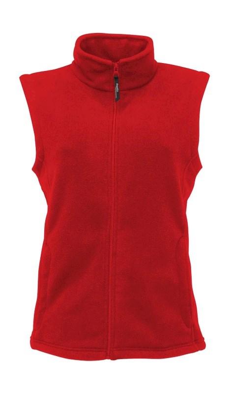 Ladies` Mirco Fleece Bodywarmer