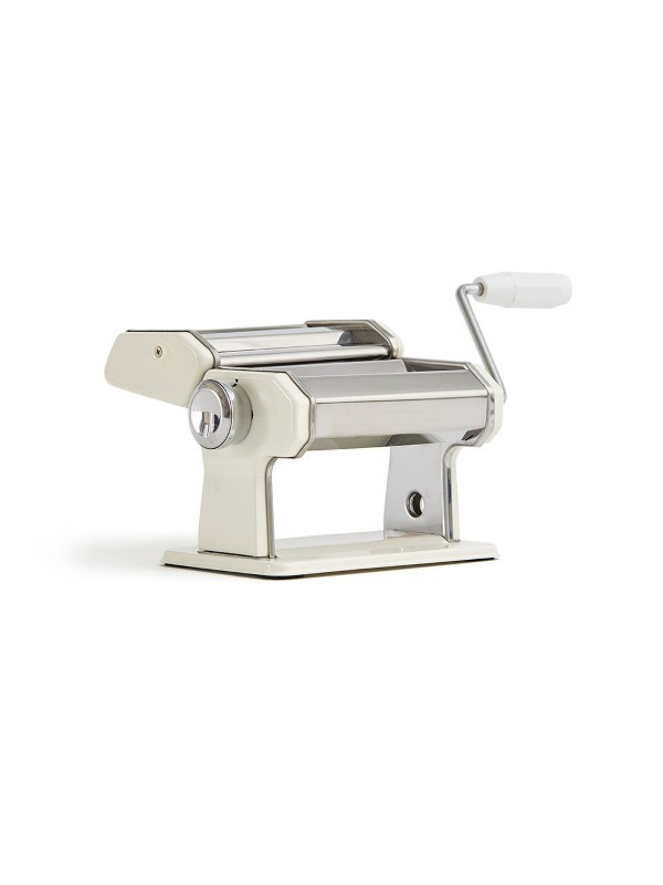 Pasta machine, zilverkleur .