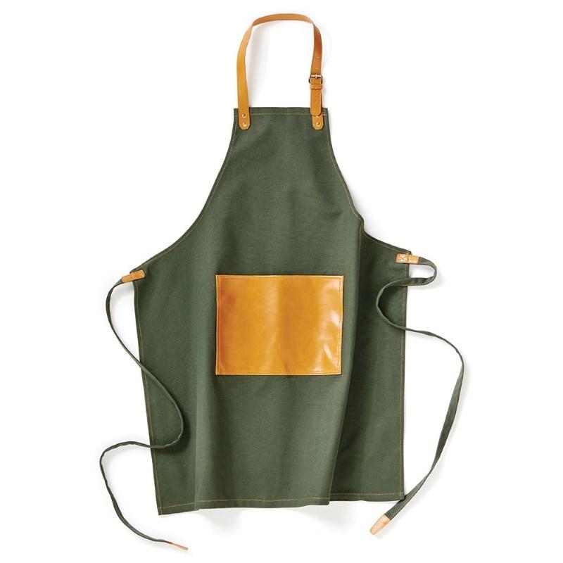 Keukenschort Asado, groen .