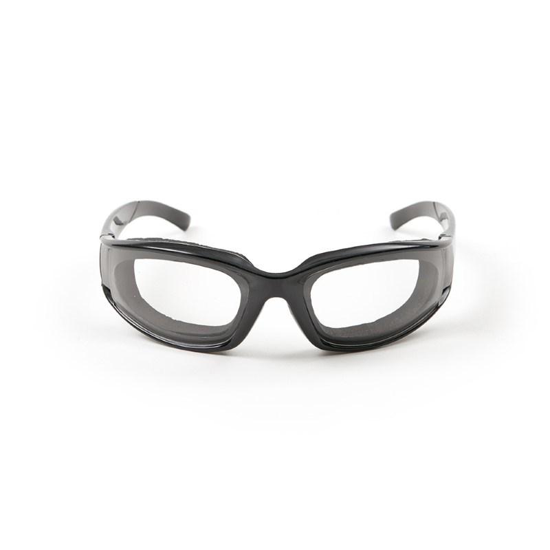 Uienbril, zwart .