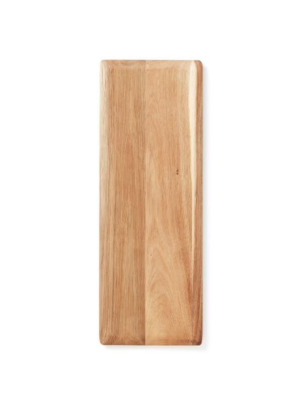 Agello Snijplank, zilverkleur / hout .