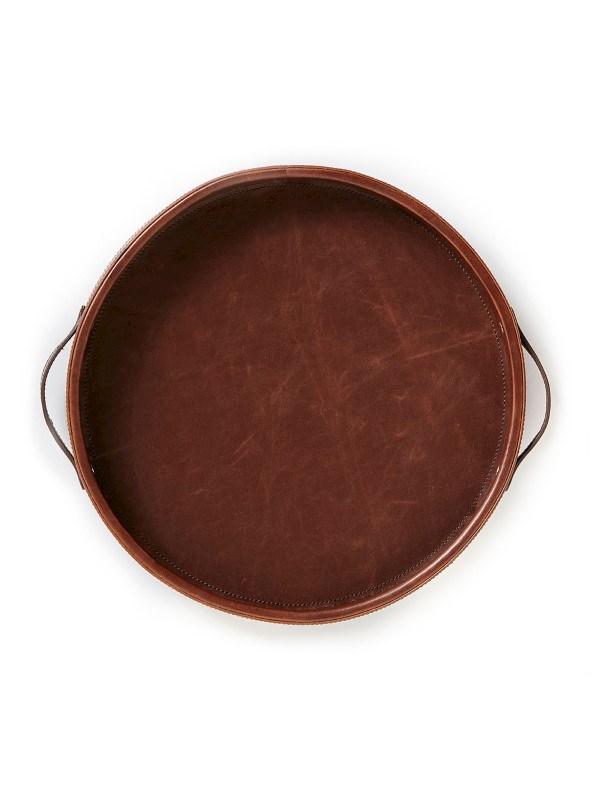 Groot Dienblad York, bruin .