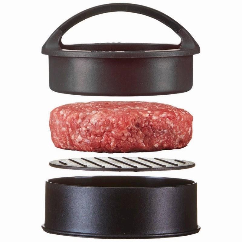 Hamburger Press, zwart .