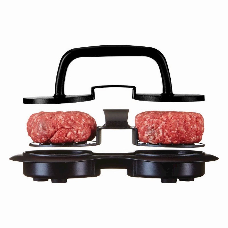 Hamburger Press Mini, zwart .