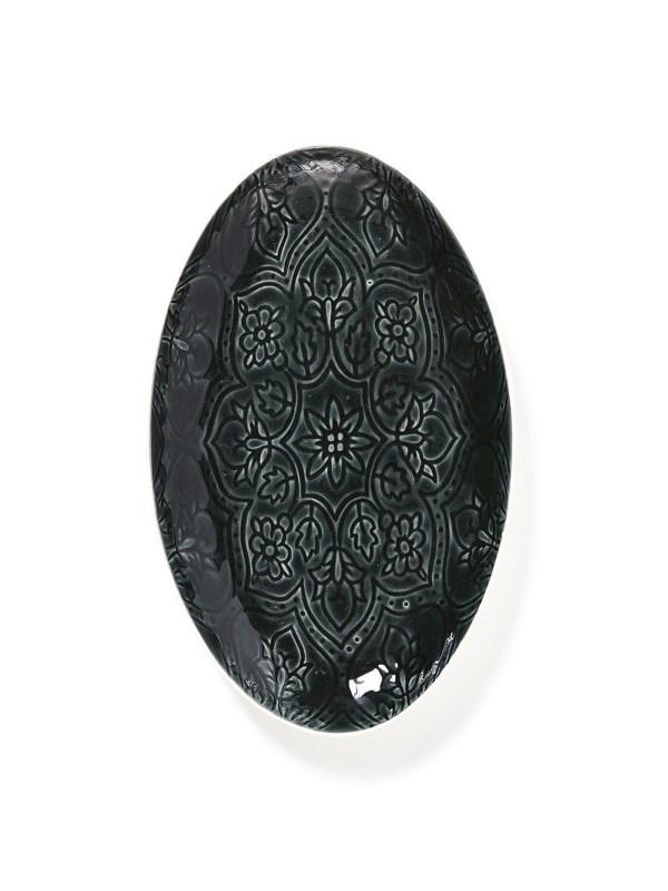 Porto Dienblad, zwart .