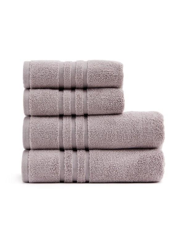 Hayden handdoekenset, grijs .