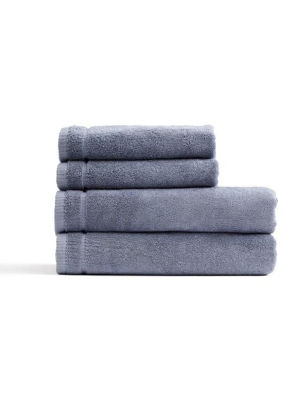 Cenote handdoekenset , lichtblauw .