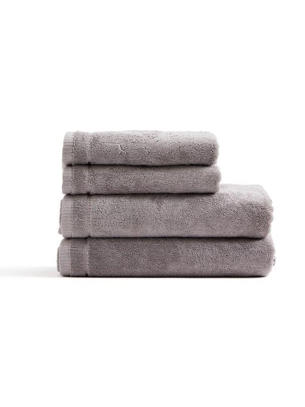 Cenote handdoekenset , grijs .