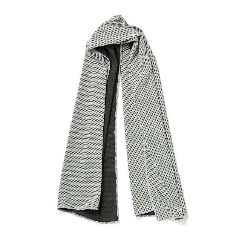 Koele Sporthanddoek, grijs .