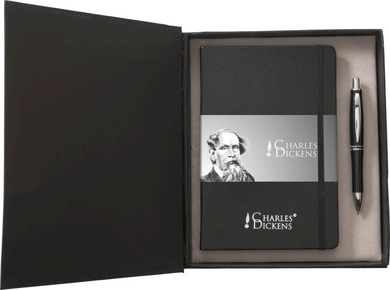 Aluminium Charles Dickens® schrijfset