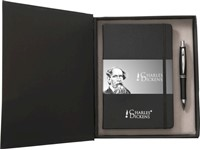 Charles Dickens schrijfset, boekje (ca A5), balpen