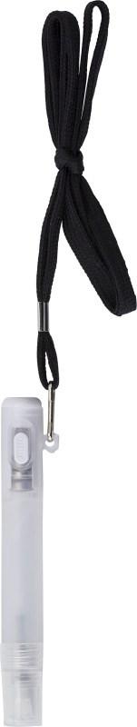 Keycord met handspray en zaklamp