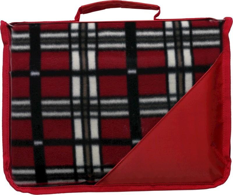 Fleece deken (150 gr/m²) met draagband