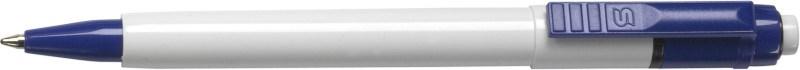Stilolinea kunststof balpen Baron met een witte tip