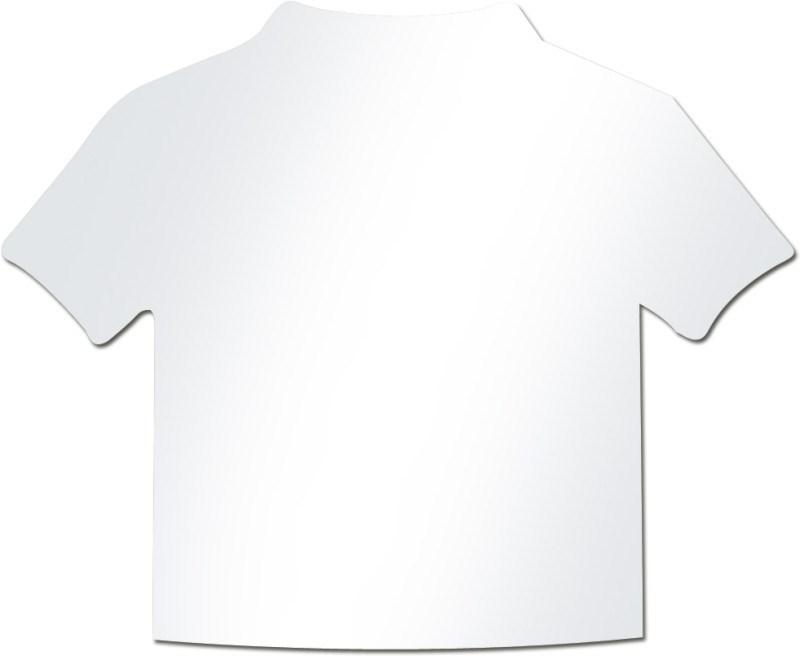 Papiertje, shirt vormig voor 5159, 12 st per vel