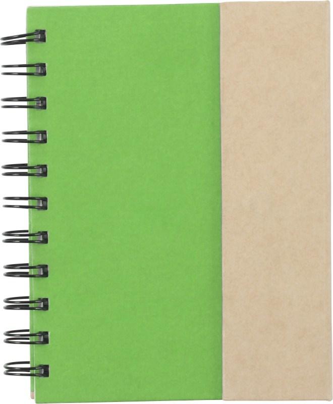 Kartonnen notitieboekje