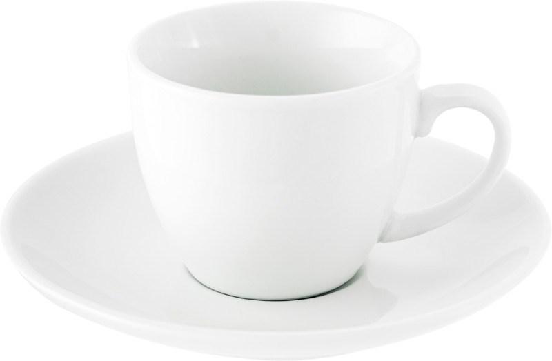 Porseleinen kop en schotel (80 ml)