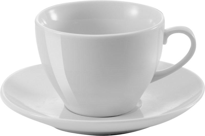 Porseleinen kop en schotel (230 ml)