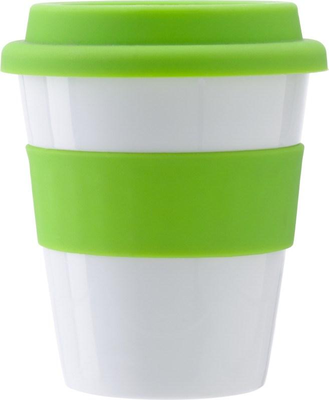 Kunststof drinkbeker (350 ml).