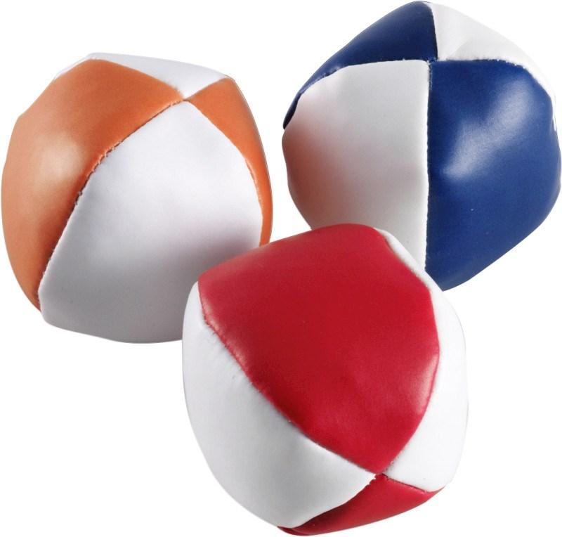 PVC jongleerballen set