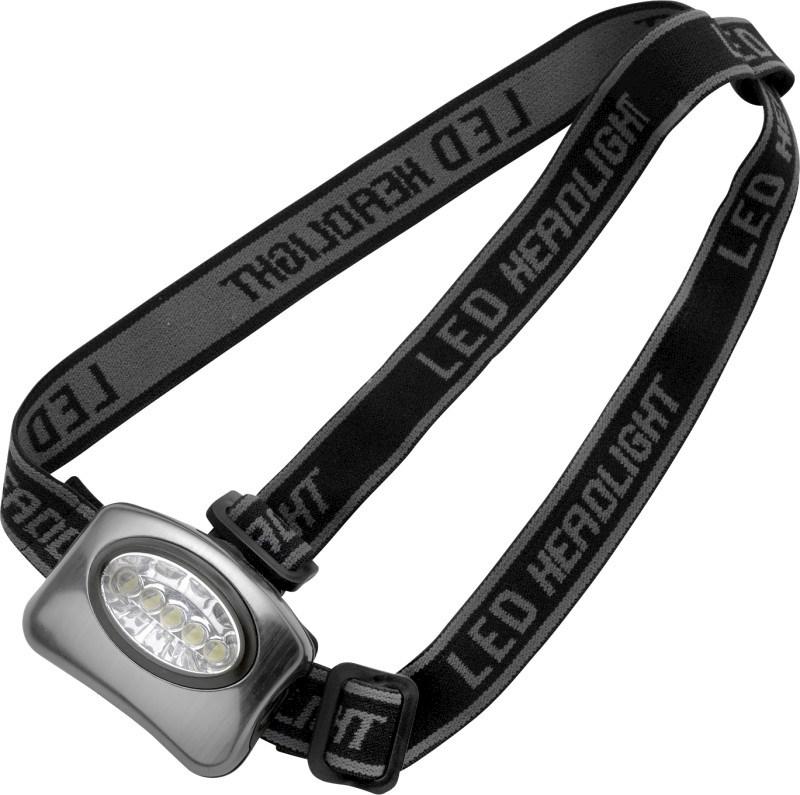 Aluminium hoofdlamp met 5 LED