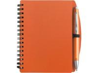 Notitieboekje (A6), incl. plastic balpen.