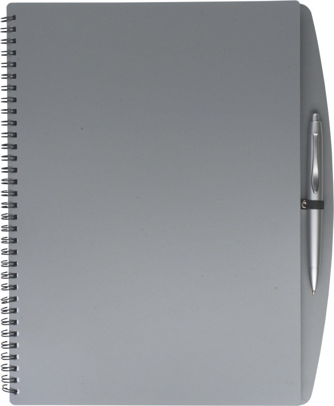 PU notitieboek met balpen