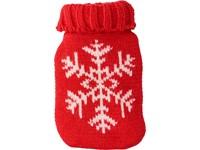 Kerst heatpad in de vorm van een warmwaterfles