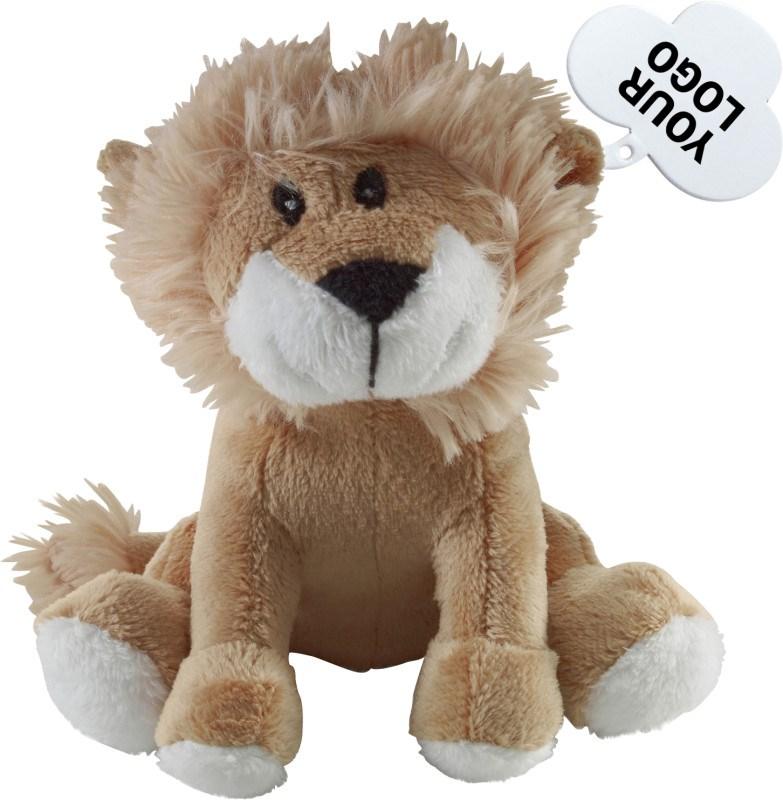 Pluchen 'leeuw'.