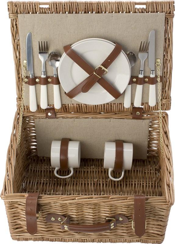 Wilgen picknickmand