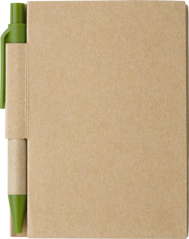 Papieren notitieboekje