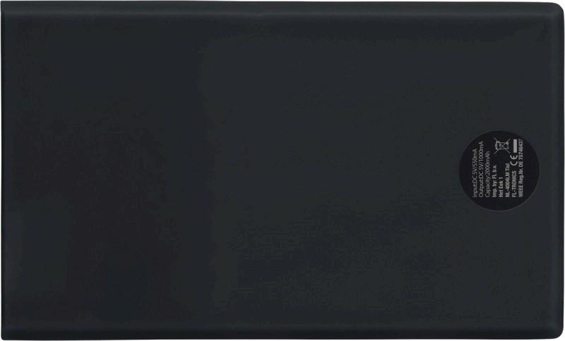Powerbank 2000mAh, creditcard model