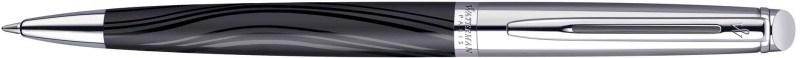 Waterman Hemisphere De Luxe Silky Black Ct Balpen