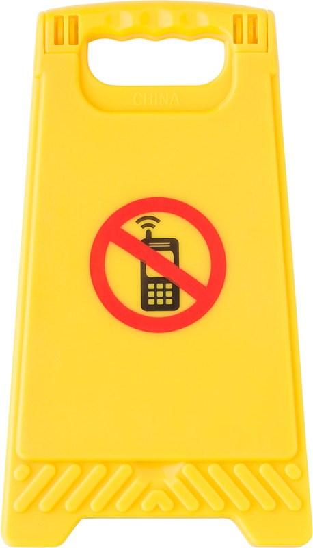 ABS waarschuwingsbord