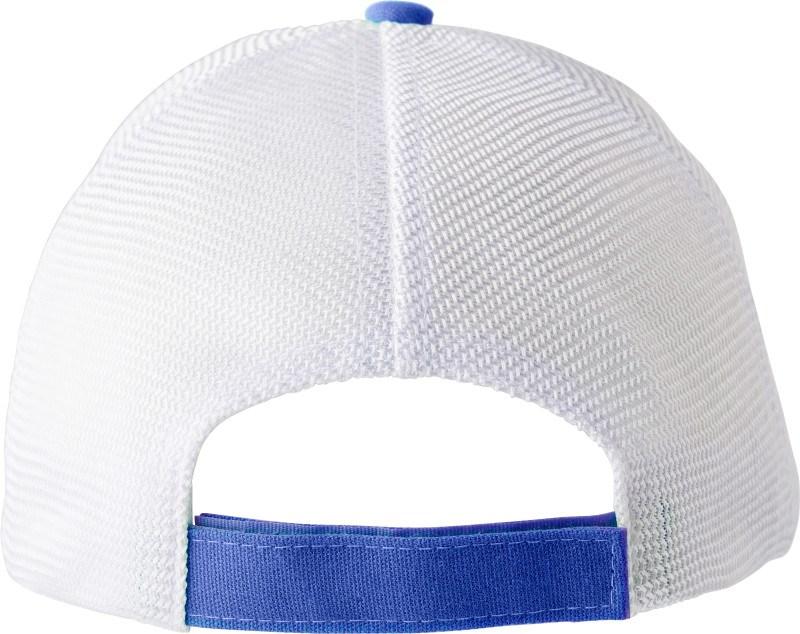 Polyester baseball cap met 5 panelen