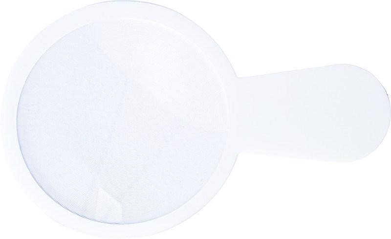 Ultra dun plastic vergrootglas, model 'loep'.