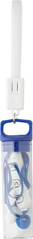 Kunststof in-ear oortelefoontjes met draadloze verbindingstechnologie