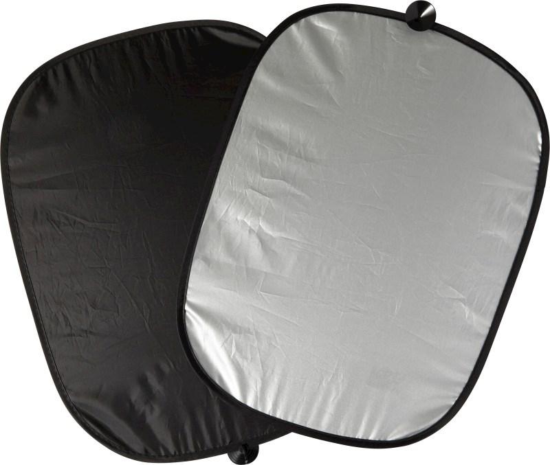 Set van 2 polyester zonneschermen voor zijramen