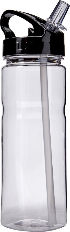 Transparante tritan drinkfles / bidon (550 ml)