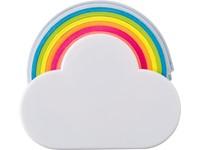Wolk en regenboog memo tape houder