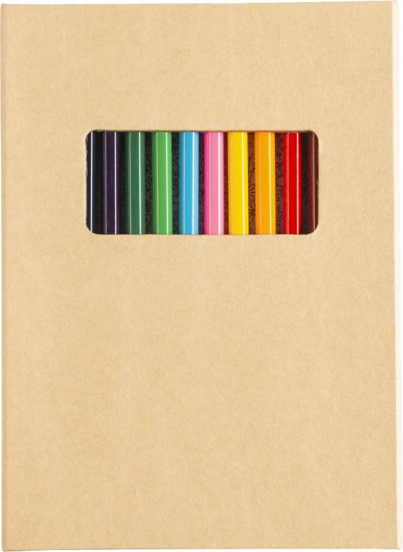 Kartonnen kleurmap