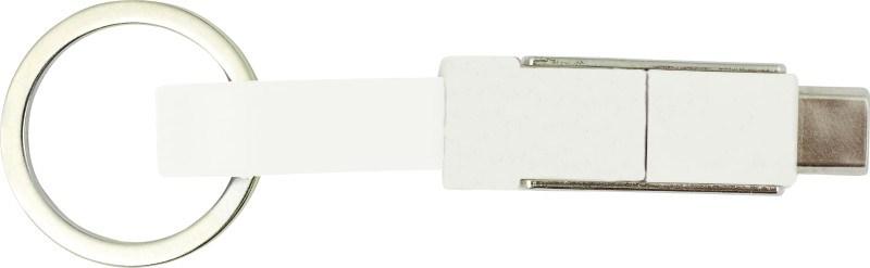 ABS USB kabel met sleutelring