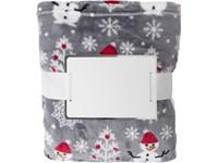 Flanel fleece sneeuwpop deken (260 gm/2)