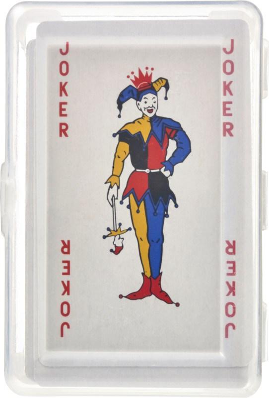 PET hoesje met speelkaarten