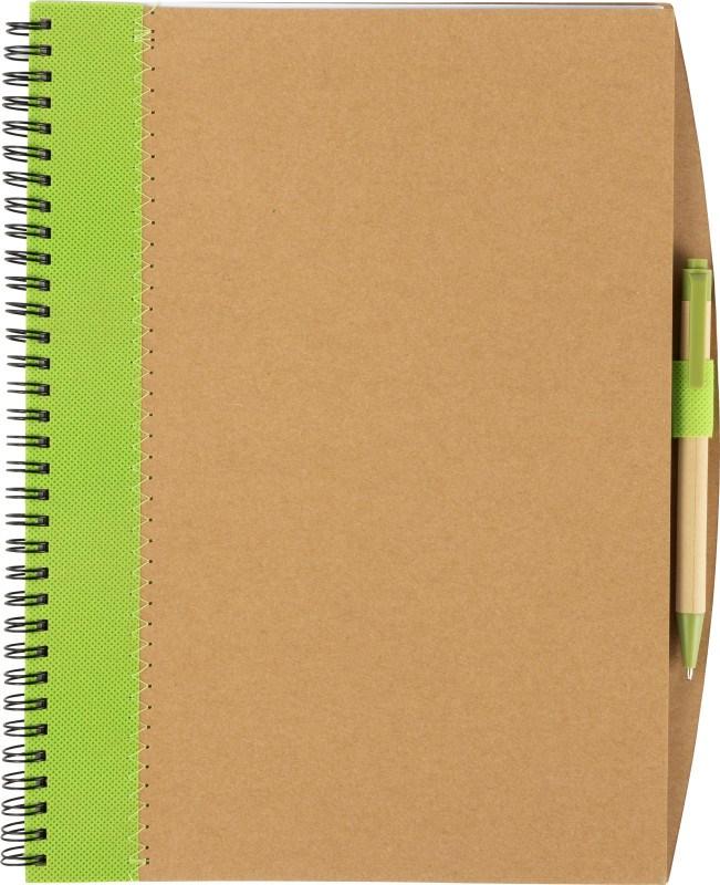 Kartonnen notitieboek
