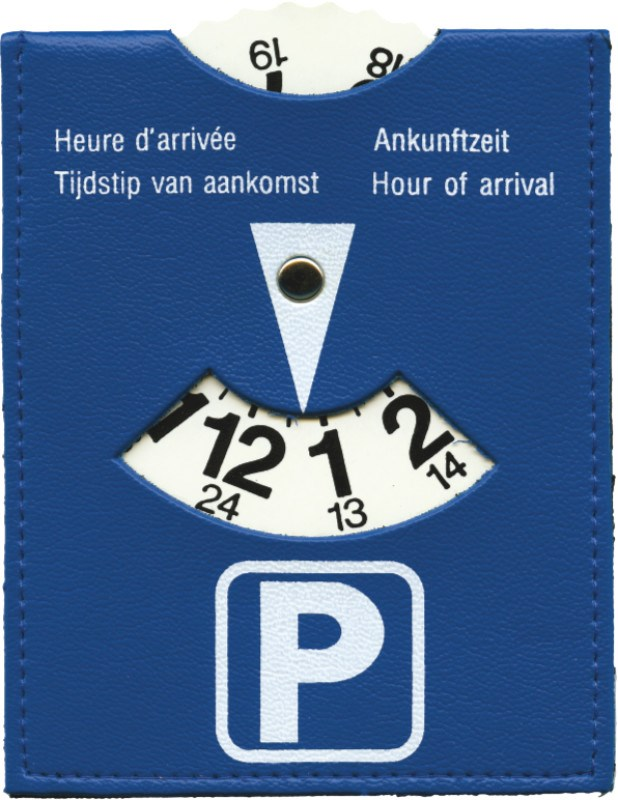 PVC parkeerschijf