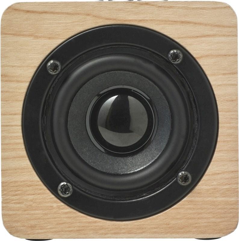 Houten speaker