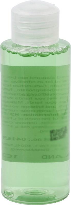 Plastic flesje met handzeep (100 ml)